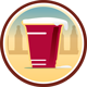 Frat Party Untappd badge brought to you by thekruser