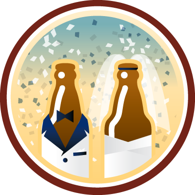 Here Comes the Brew Untappd badge brought to you by thekruser