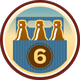 Six Pack Untappd badge brought to you by thekruser