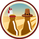 Beer-Giving Untappd badge brought to you by thekruser
