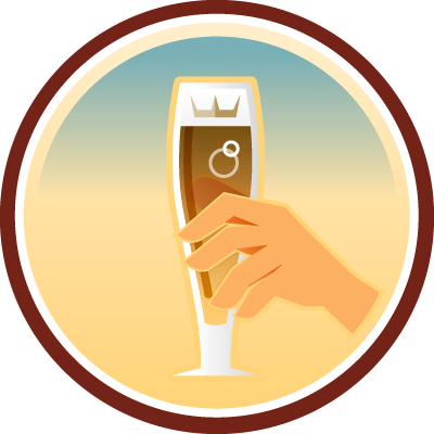 Toast King Untappd badge brought to you by thekruser